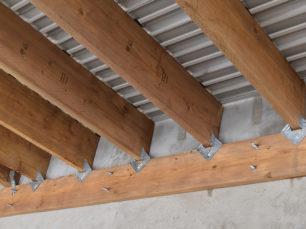 deck trusses, alumni-fence deck, deck, aluminum deck