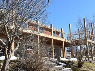 deck, aluminum deck, superior deck construction, permanent deck, no rot deck