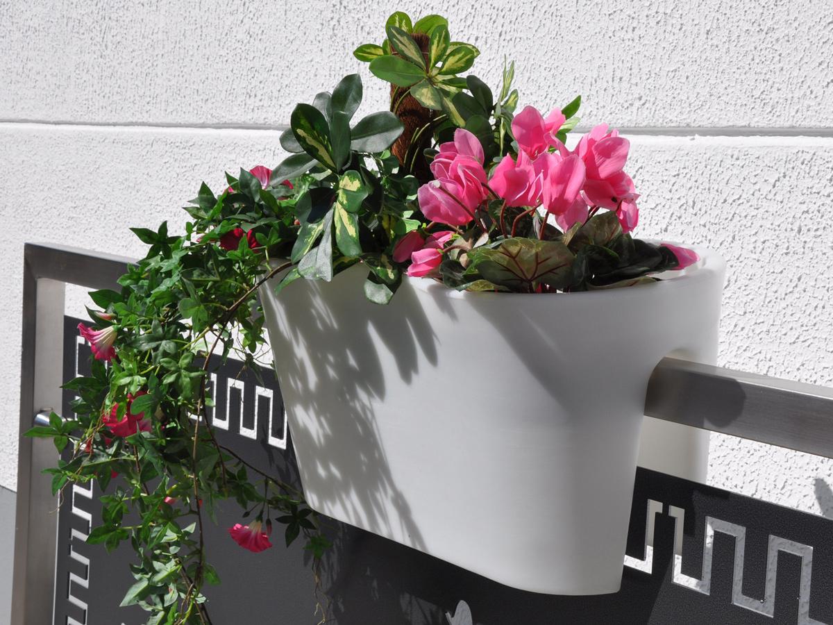 ROTO Balconee™ Planters, balcony planters