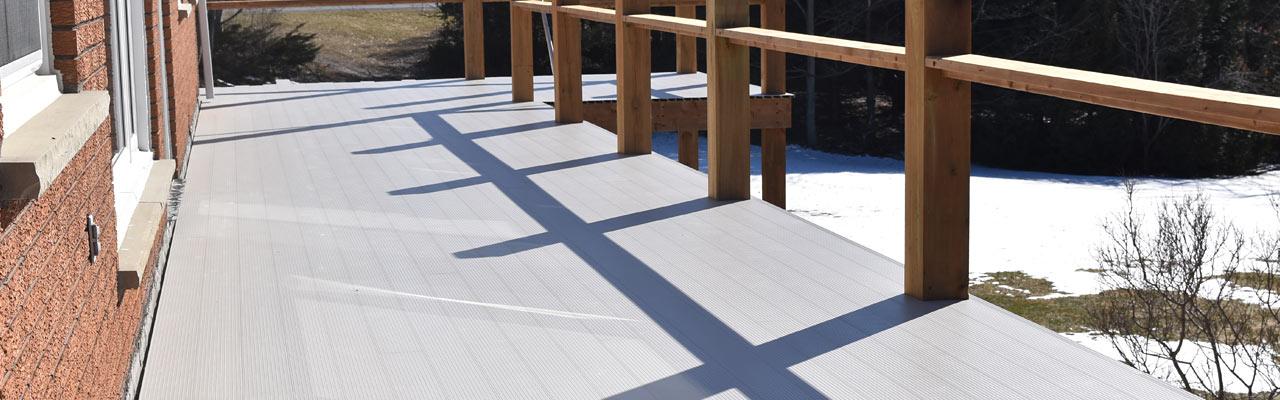 Aluminum deck, aluminum flooring