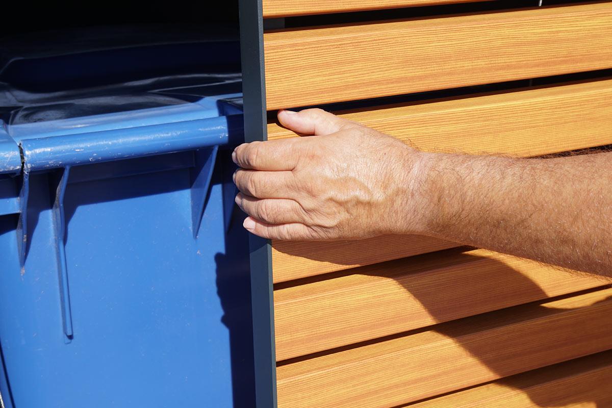 commercial waste bins, industrial waste bins, lockable waste bins, recycling bin storage, garbage bin storage